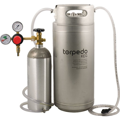 Premium Beer Brewing Kit With Kegging System