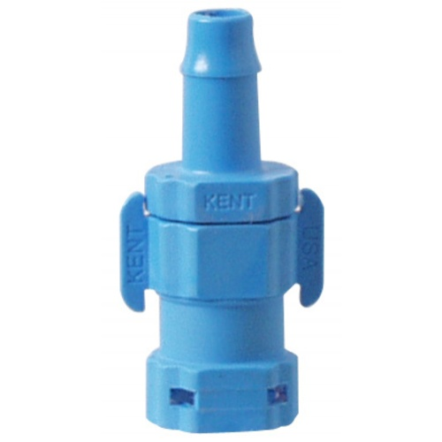 Kent Fittings - Shut-Off Female QD x 1/4 in. Barb
