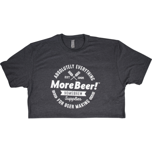 MoreBeer! Absolutely Everything - Charcoal T-Shirt