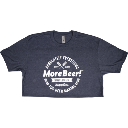 MoreBeer!® Absolutely Everything - Midnight Navy T-Shirt