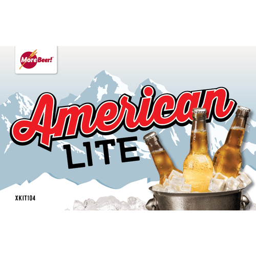 American Lite Ale - Extract Beer Brewing Kit (5 Gallons)