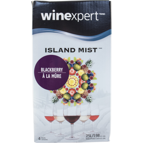 Winexpert Island Mist Kits - Blackberry Cabernet Recipe Kit