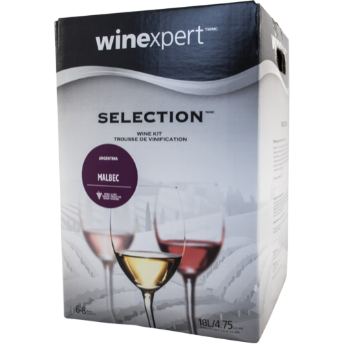 Winexpert Selection Argentinian Malbec Wine Recipe Kit