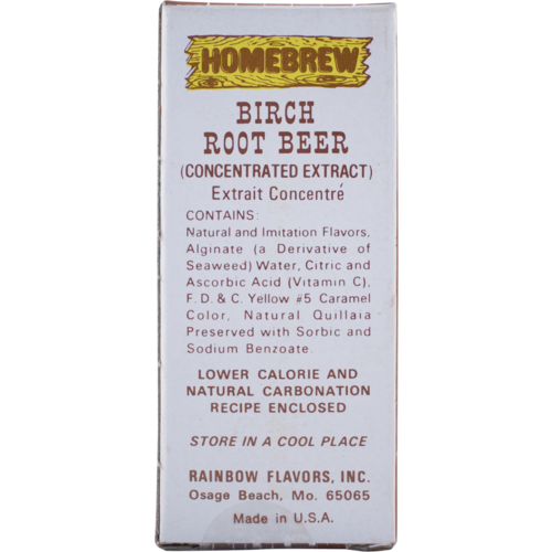 Rainbow Birch Root Beer Soda Extract - 2 fl oz.