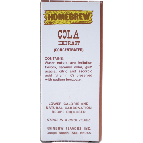 Rainbow Cola Soda Extract - 2 fl oz.