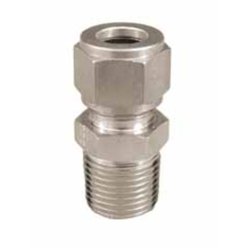 Stainless Compression Fitting - 1/2 in. x 1/2 in. MPT