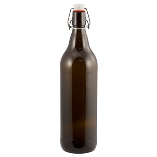 Amber Flip Top Growler - 1 L