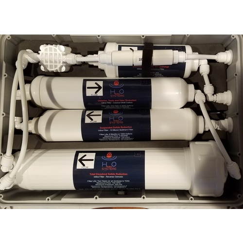Replacement Filter Set for City Water BrewRO System - Dual Carbon & Deionization