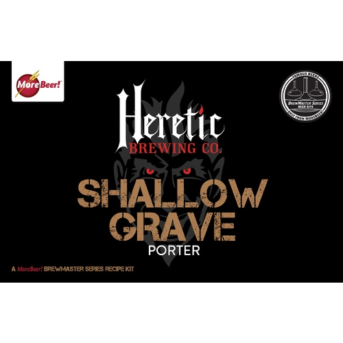 Heretics Shallow Grave® Robust Porter - Extract Beer Brewing Kit (5 Gallons)