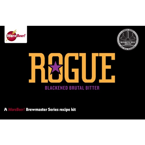 Rogues Blackened Brutal Bitter Ale - All Grain Beer Brewing Kit (5 Gallons)
