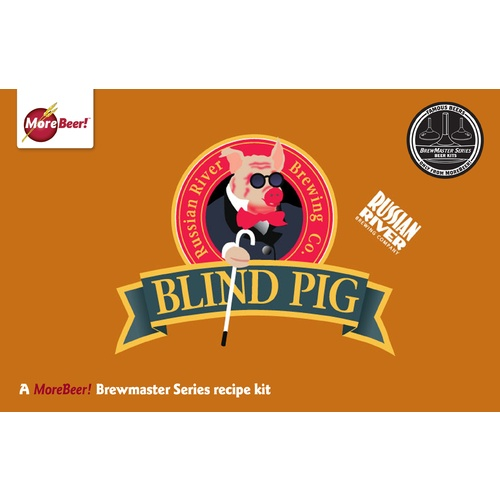 Russian Rivers Blind Pig® IPA - Extract Beer Brewing Kit (5 Gallons)