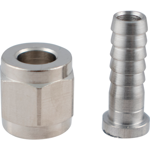 Flare Fitting Set - 1/4 in. Nut & 1/4 in. Barb