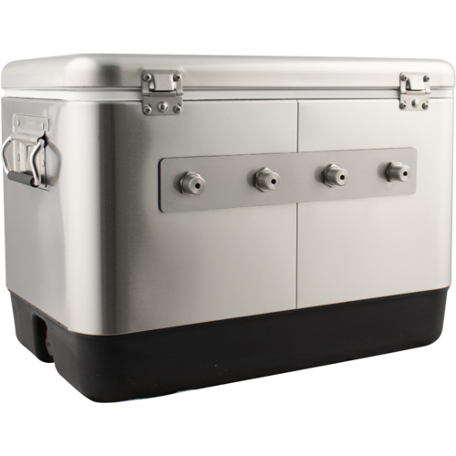 KOMOS® Stainless Steel Draft Box (4 Tap)