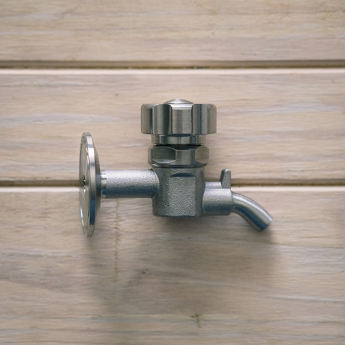 Ss Brewtech 1.5 in. Tri-Clamp Sample Valve