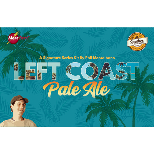 Left Coast Pale Ale by Phil Montalbano (Malt Extract Kit)