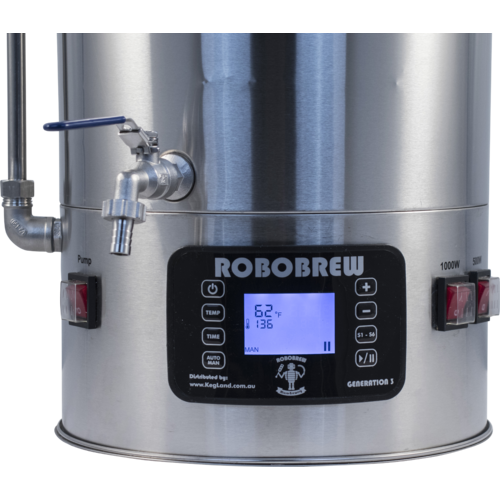Robobrew / BrewZilla V3.1 All Grain Brewing System With Pump - 35L/9.25G