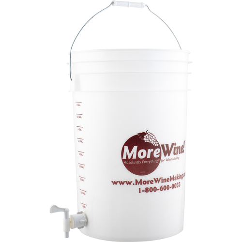 Plastic Fermenting Bucket - 6 gal. (With Spigot)