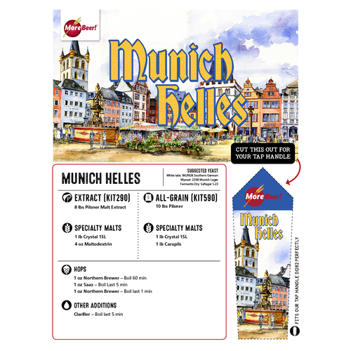 Munich Helles - Extract Beer Brewing Kit (5 Gallons)