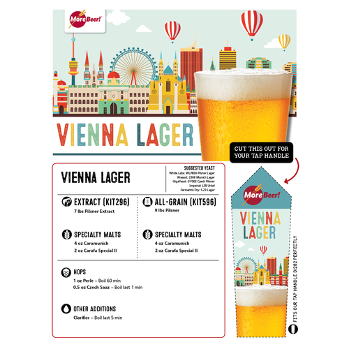 Vienna Lager - Extract Beer Brewing Kit (5 Gallons)