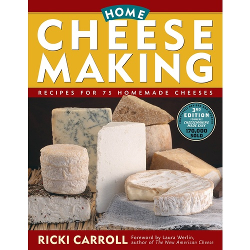 Home Cheesemaking (3rd Edition)