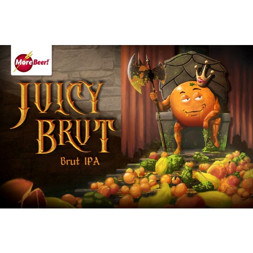 Juicy Brut IPA - All Grain Beer Brewing Kit (5 Gallons)