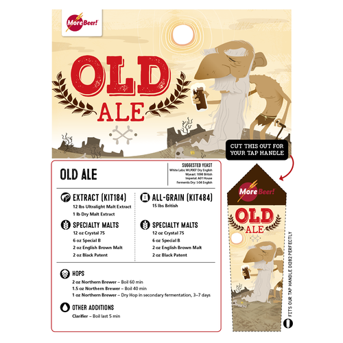 Old Ale - All Grain Beer Brewing Kit (5 Gallons)
