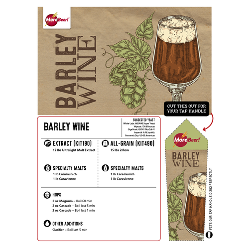 Barley Wine - Extract Beer Brewing Kit (5 Gallons)
