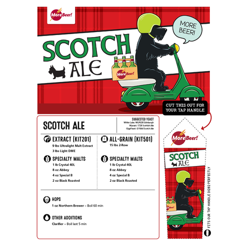 Scotch Ale - Extract Beer Brewing Kit (5 Gallons)