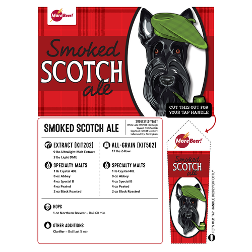 Smoked Scotch Ale - All Grain Beer Brewing Kit (5 Gallons)
