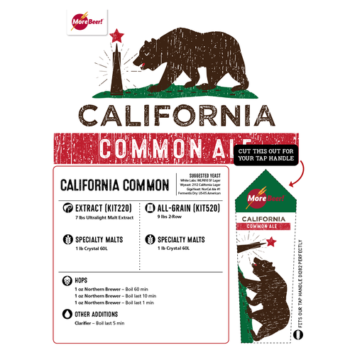 California Common Ale - 5 Gallon All Grain Beer Kit