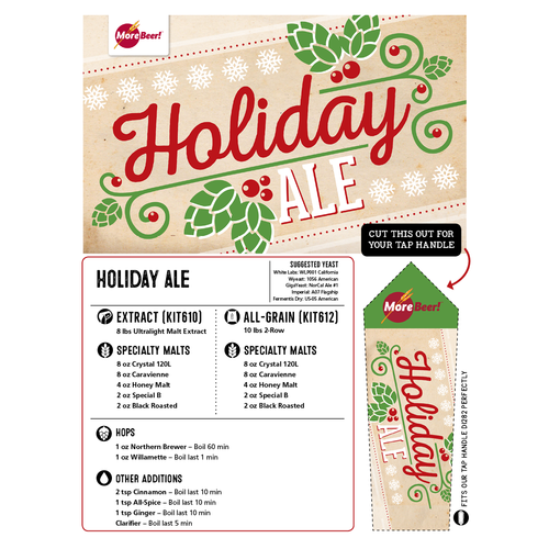 Holiday (Christmas) Ale - Extract Beer Brewing Kit (5 Gallons)