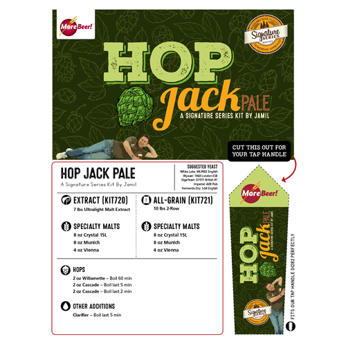 HopJack® Clone by Jamil Zainasheff (All Grain Kit)
