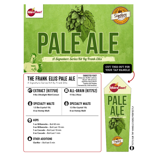 Frank Ellis Pale Ale (Malt Extract Kit)