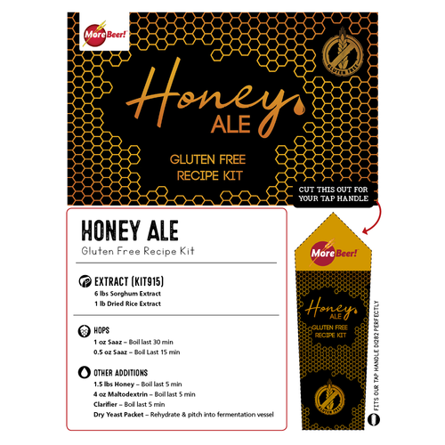 Honey Ale - Gluten Free Beer Recipe Kit (5 Gallons)