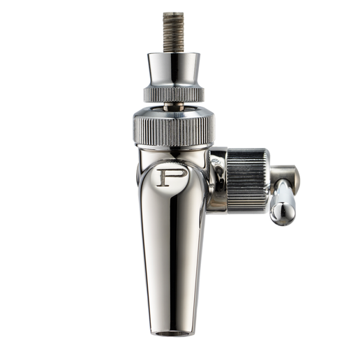Perlick Faucet - 690SS Stainless Steel (Flow Control w/ Push-Back Creamer)