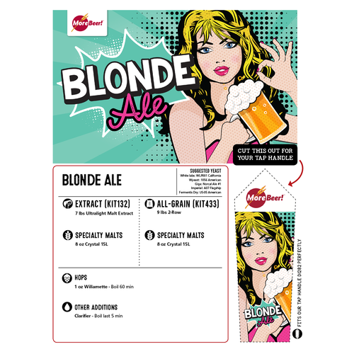 Blonde Ale - All Grain Beer Brewing Kit (5 Gallons)