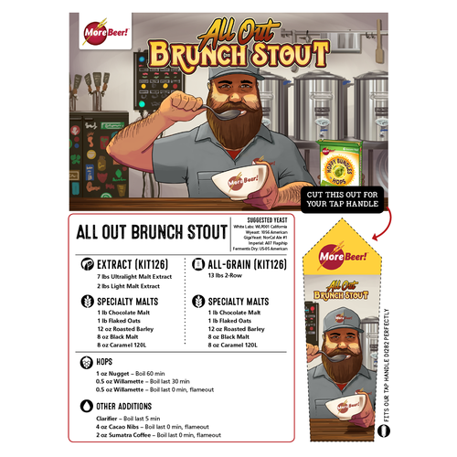 Breakfast Stout® Clone - All Out Brunch Stout (All Grain)