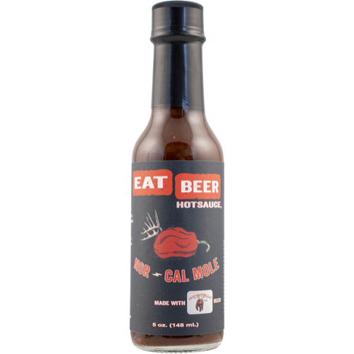 Eat Beer Hot Sauce - Nor Cal Mole (5 oz)