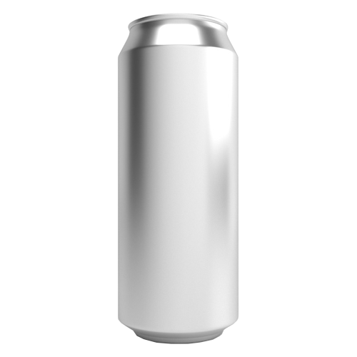 Can Fresh Aluminum Beer Cans w/ Full Aperture Lids - 500ml/16.9 oz. (Case of 207)