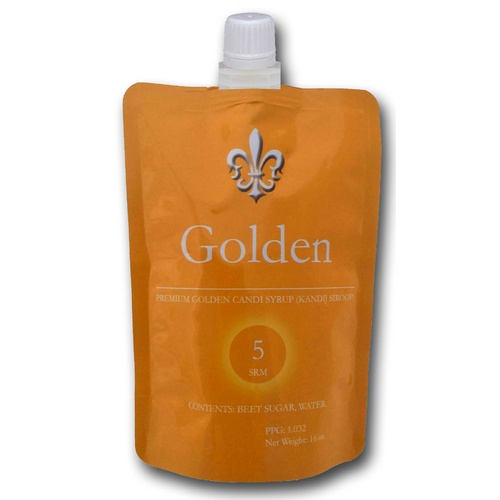 Candi Syrup - Golden (Light) - 1 lb Bag.