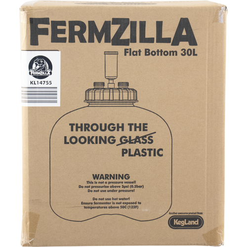 FermZilla Flat Bottom Fermenter - 7.9 gal. / 30 L