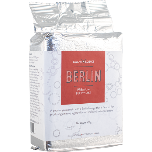 CellarScience™ BERLIN Dry Lager Yeast (500 g)
