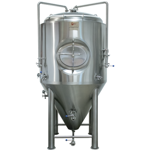 MoreBeer! Pro Conical Fermenter - 3.5 bbl (Mirror Polish Finish)