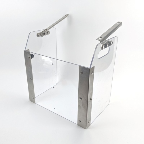 Splash Guard for Cannular Pro Semi-Auto Bench Top Can Seamer