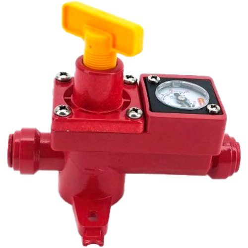 BlowTie 2 Diaphragm Spunding Valve with Gauge