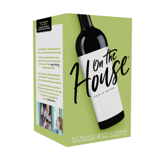 On The House™ Wine Making Kit - Shiraz Style
