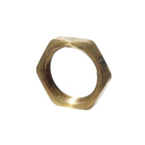 Brass Flat Nut - 1/2 in.