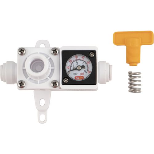 Duotight In-Line Regulator with Gauge