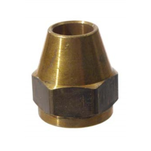 Brass Flare Nut - 3/8 in.