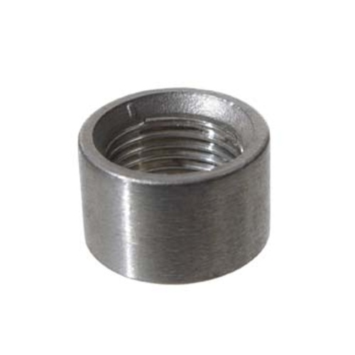 Stainless Half Coupler - 1/2 in.